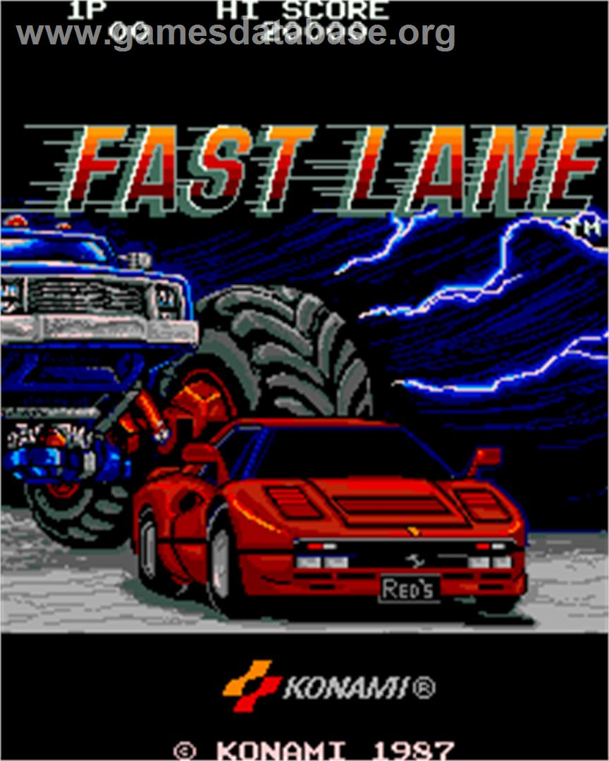 fast lane game