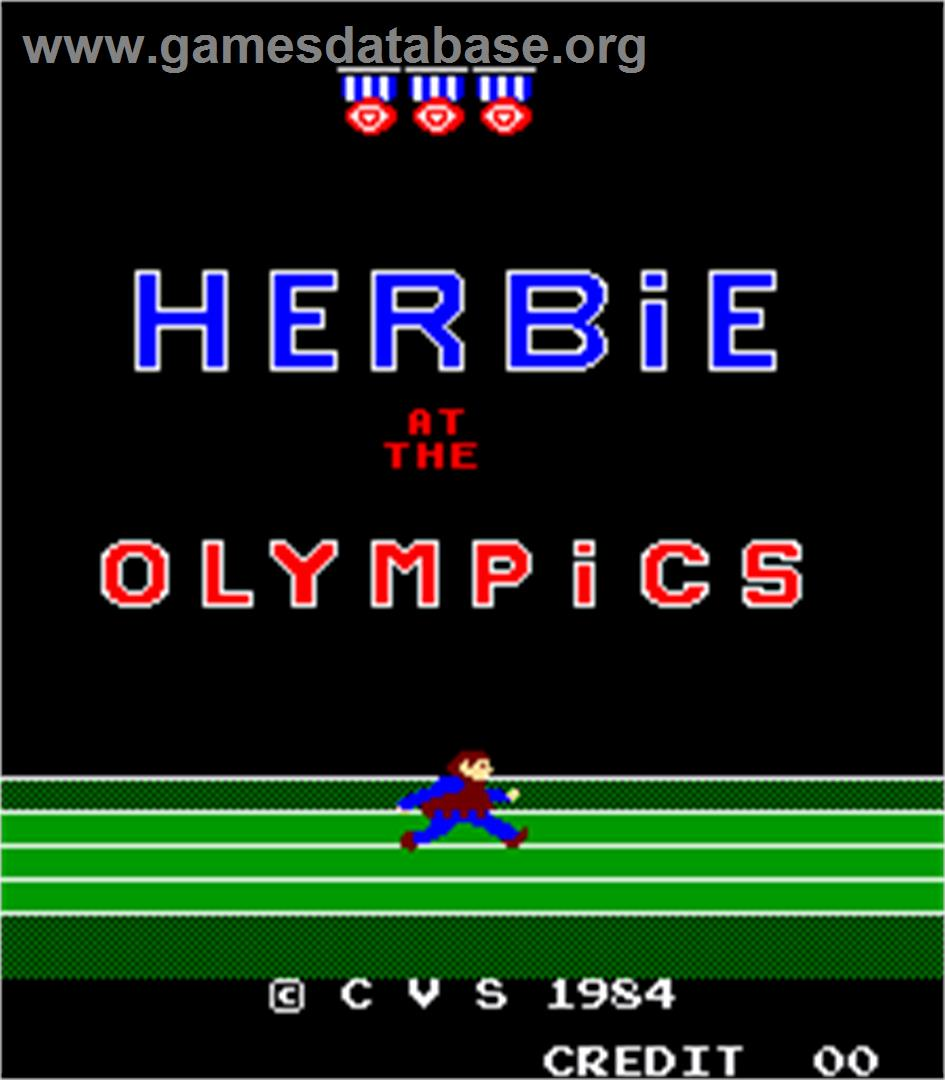 Herbie at the Olympics - Arcade - Artwork - Title Screen