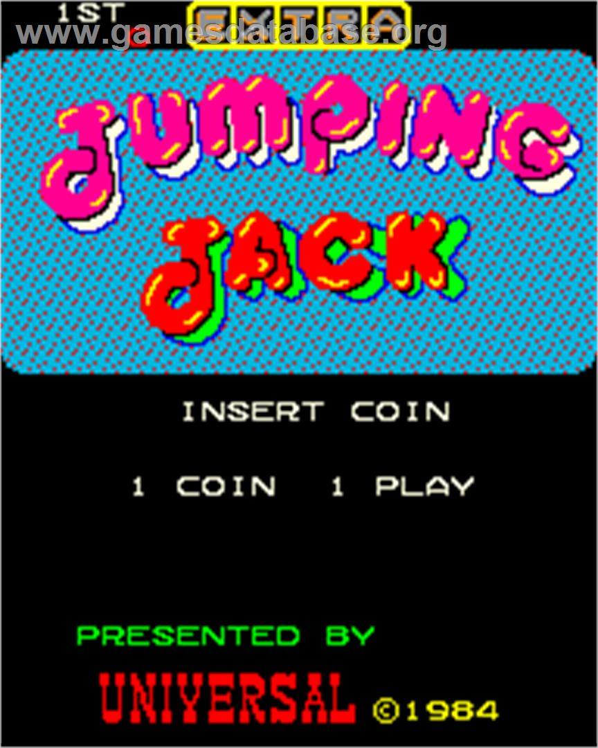 Jumping Jacks Cartoon Jumping Jack Arcade Game