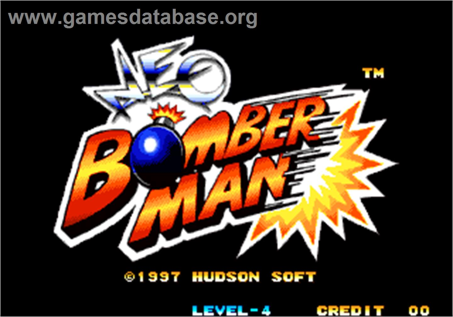 arcade game neo bomberman