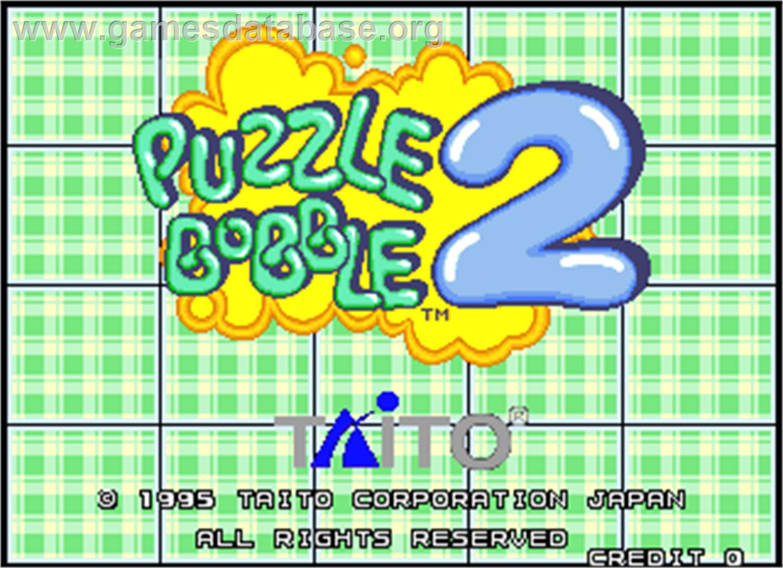 puzzle bobble 2 game