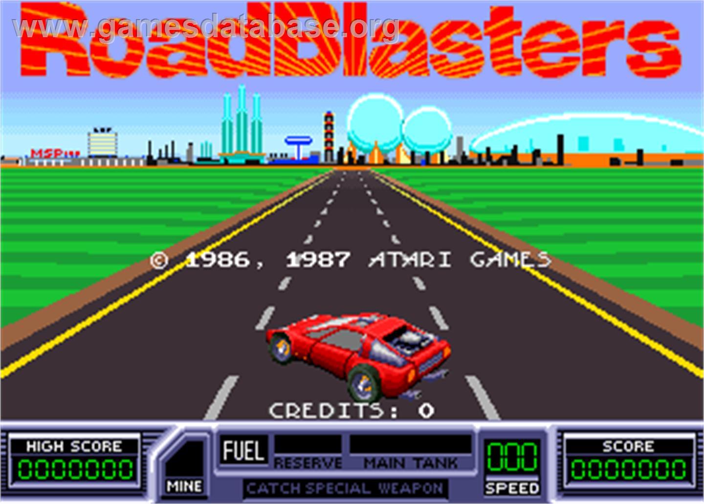 Road Blasters Arcade Games Database