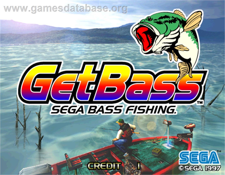 sega bass fishing arcade games database