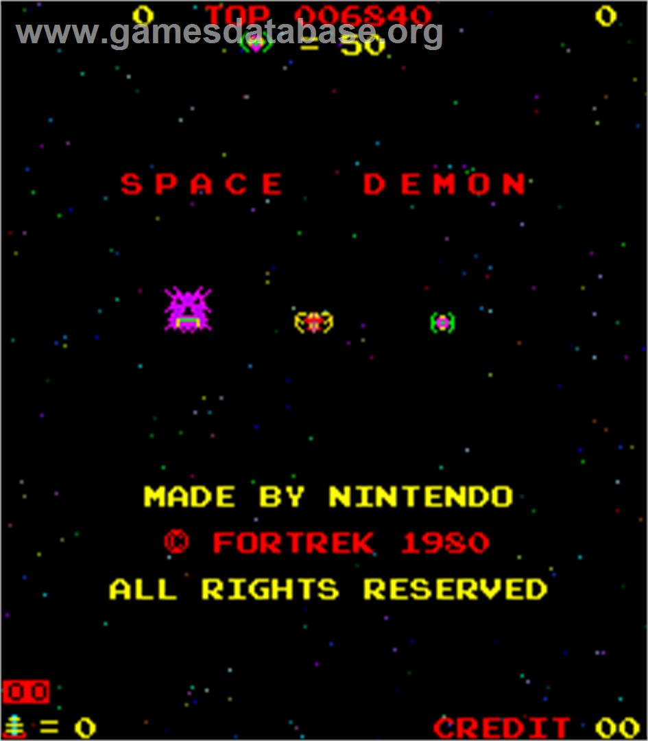 Space Demon Arcade Games Database