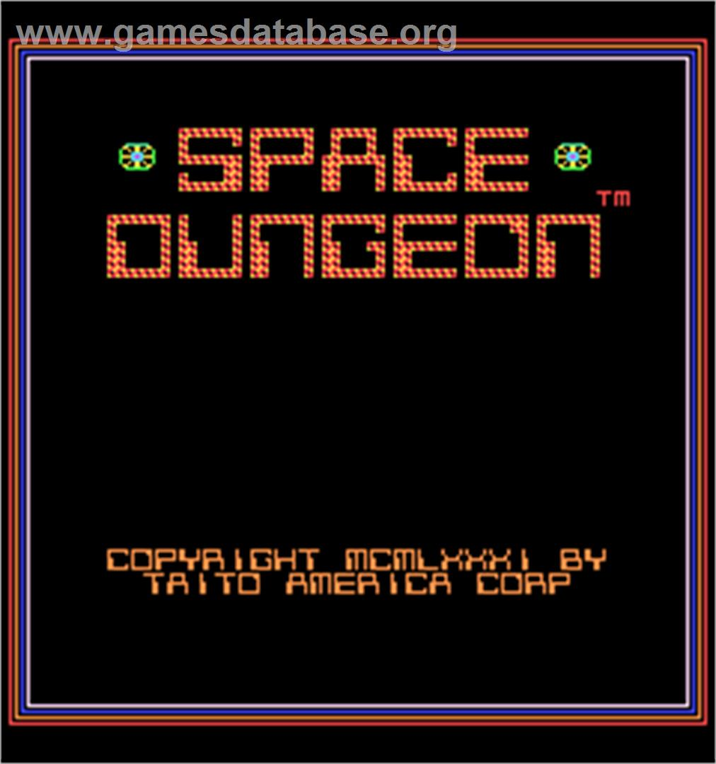 Space Dungeon - Arcade - Artwork - Title Screen