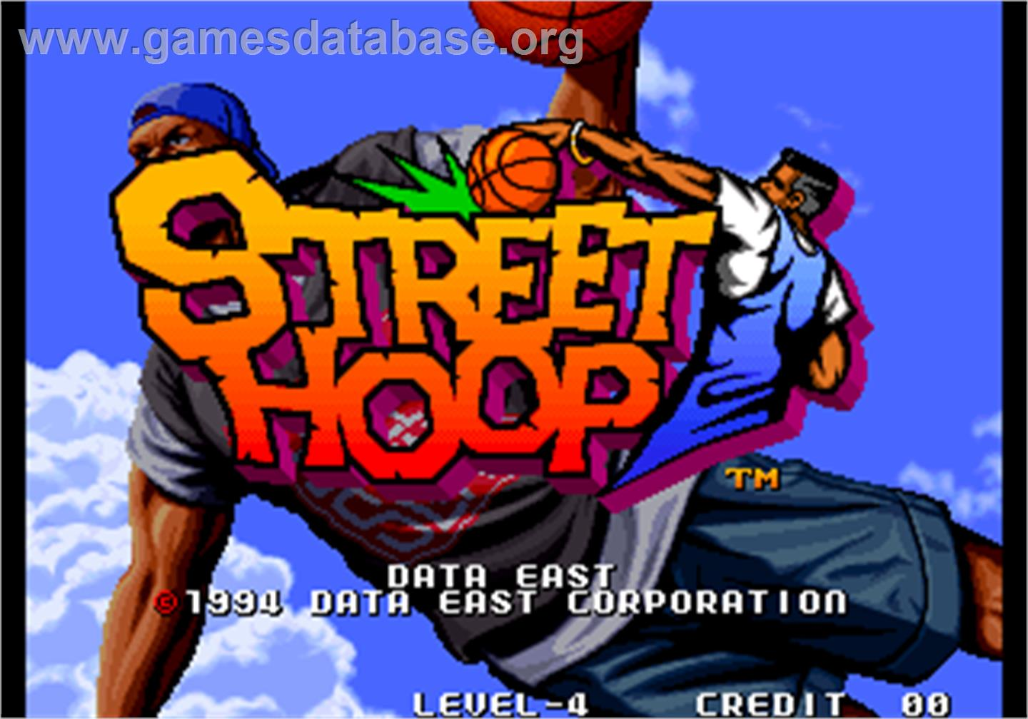 Street Hoop / Street Slam / Dunk Dream - Arcade - Artwork - Title Screen