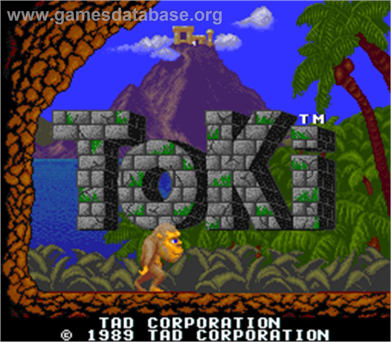 Toki Arcade Games Database