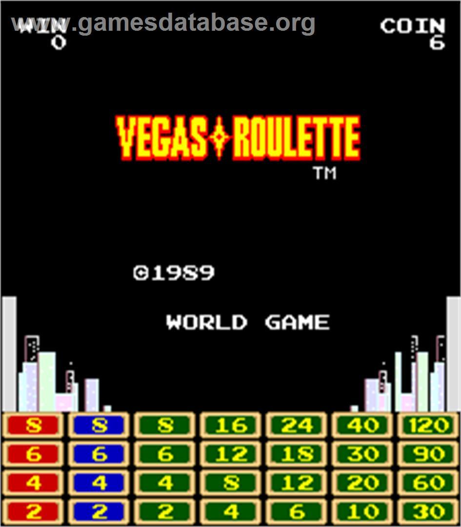 Roulette arcade