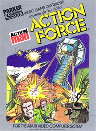 Box cover for Action Pak on the Atari 2600.