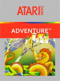 Box cover for Adventure on the Atari 2600.