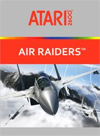 Box cover for Air Raiders on the Atari 2600.