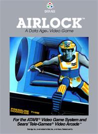 Box cover for Airlock on the Atari 2600.