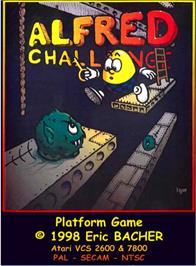 Box cover for Alfred Challenge on the Atari 2600.