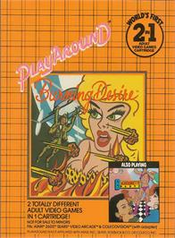 Box cover for Bachelorette Party/Burning Desire on the Atari 2600.