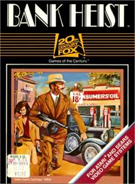 Box cover for Bank Heist on the Atari 2600.