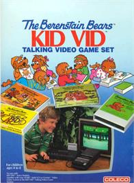 Box cover for Berenstain Bears on the Atari 2600.