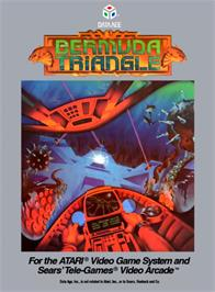 Box cover for Bermuda Triangle on the Atari 2600.