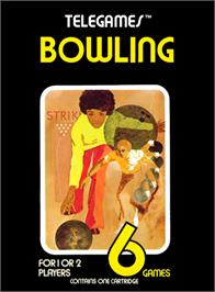 Box cover for Bowling on the Atari 2600.