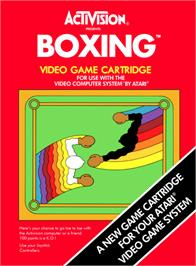 Box cover for Boxing on the Atari 2600.