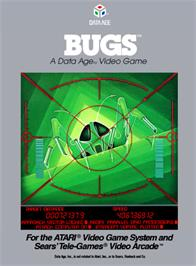 Box cover for Bugs on the Atari 2600.