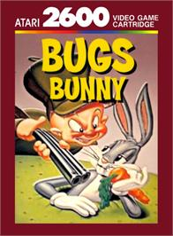 Box cover for Bugs Bunny on the Atari 2600.