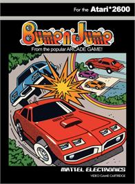 Box cover for Bump 'N' Jump on the Atari 2600.