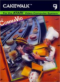 Box cover for Cakewalk on the Atari 2600.