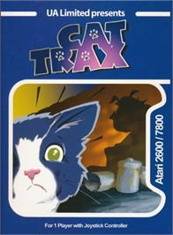 Box cover for Cat Trax on the Atari 2600.