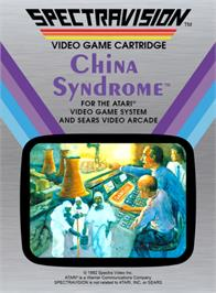 Box cover for China Syndrome on the Atari 2600.