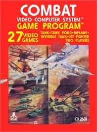 Box cover for Combat on the Atari 2600.