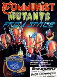 Box cover for Communist Mutants from Space on the Atari 2600.
