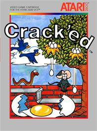 Box cover for Crack'ed on the Atari 2600.