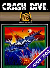 Box cover for Crash Dive on the Atari 2600.