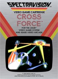 Box cover for Cross Force on the Atari 2600.