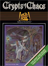 Box cover for Crypts of Chaos on the Atari 2600.