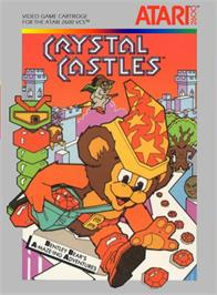 Box cover for Crystal Castles on the Atari 2600.