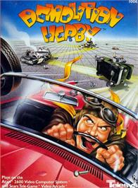 Box cover for Demolition Herby on the Atari 2600.