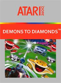 Box cover for Demons to Diamonds on the Atari 2600.