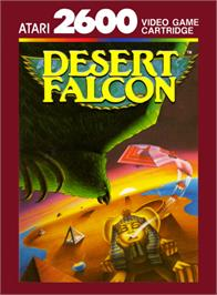 Box cover for Desert Falcon on the Atari 2600.