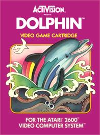 Box cover for Dolphin on the Atari 2600.