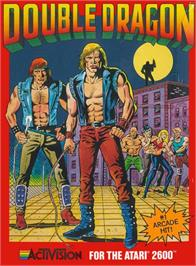 Box cover for Double Dragon on the Atari 2600.