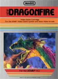 Box cover for Dragonfire on the Atari 2600.