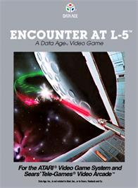Box cover for Encounter at L5 on the Atari 2600.