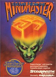 Box cover for Escape from the Mindmaster on the Atari 2600.