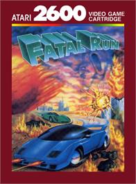 Box cover for Fatal Run on the Atari 2600.