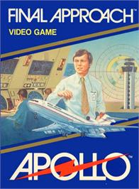 Box cover for Final Approach on the Atari 2600.