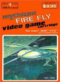 Box cover for Fire Fly on the Atari 2600.