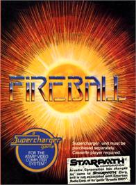 Box cover for Fireball on the Atari 2600.
