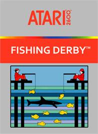 Box cover for Fishing Derby on the Atari 2600.
