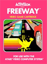 Box cover for Freeway on the Atari 2600.